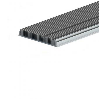 Extruded aluminum alloy radiator