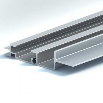 Aluminium track of automobile skylight