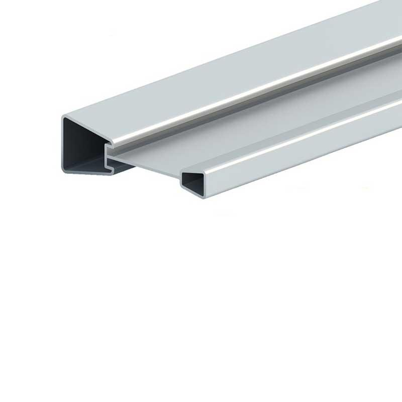 Aluminum profile for clothes drying pole