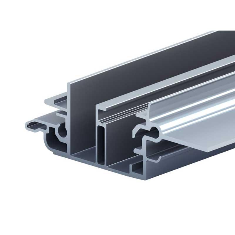 Aluminium car skylight guide rail