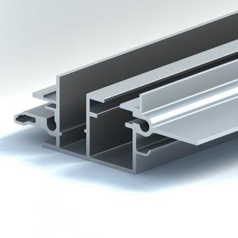 Aluminium track profiles for automobile sunroof