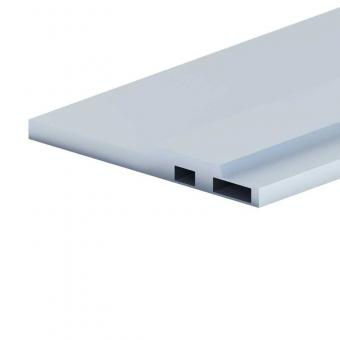 Aluminum profile for battery tray